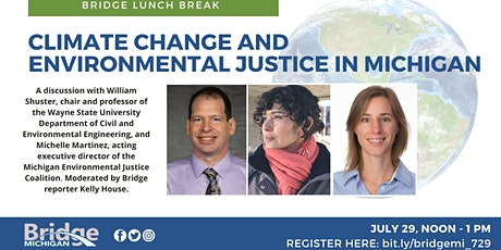 Bridge Lunch Break: Climate change and environmental justice in Michigan tickets