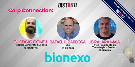Corp Connection com Bionexo ingressos