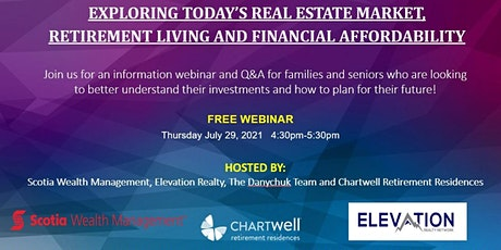 Exploring Today's Real Estate/Retirement Living and Financial Affordability tickets