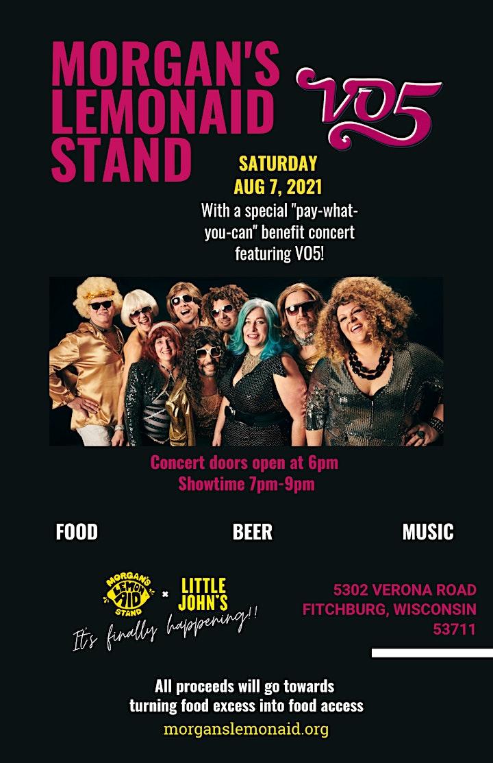 Morgan's LemonAid Stand Benefit Concert - Featuring: VO5 image