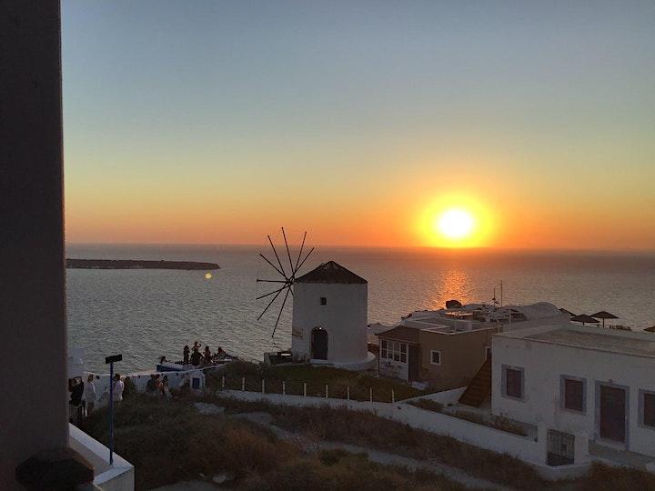 Greece aLIVE! An exhilarating virtual tour to Athens, Crete & Santorini image