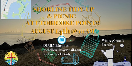 10:00 am Shoreline Tidy-Up & 12:00 pm Picnic tickets