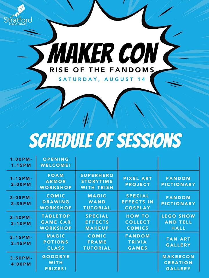 Maker Con: Rise of the Fandoms image