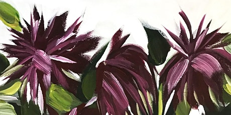Paint Dahlias with Anna Tooze at Swan Island Dahlias tickets
