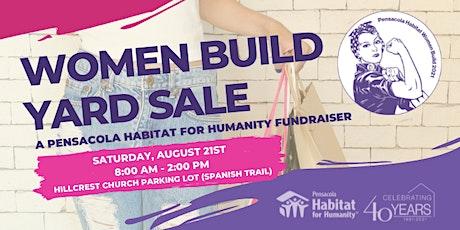 Pensacola Habitat for Humanity's Women Build Yard Sale tickets