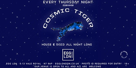 Cosmic Tiger: House & Disco All Night Long tickets
