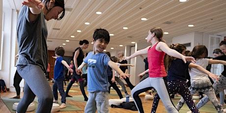 Yoga famille - 4 à12 ans billets