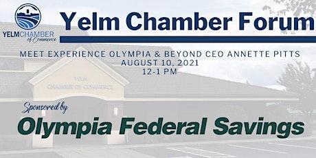 August Chamber Forum & Luncheon tickets
