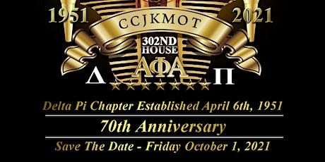 Delta Pi Alumni Association 70th Anniversary tickets