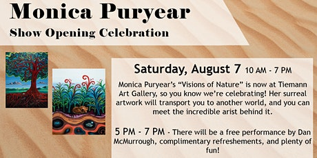 """Monica Puryear """"Visions of Nature"""" Show Opening Celebration tickets"""