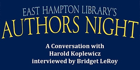 Authors Night  - A Conversation with Harold Koplewicz tickets