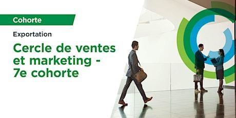Cercle de formation et de partage de pratiques avancées ventes marketing billets
