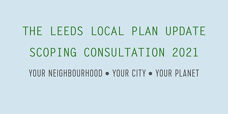 Local Plan Update  Scoping Consultation - Place-Making Webinar - Evening tickets