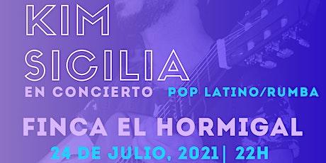 KIM SICILIA en concierto! entradas