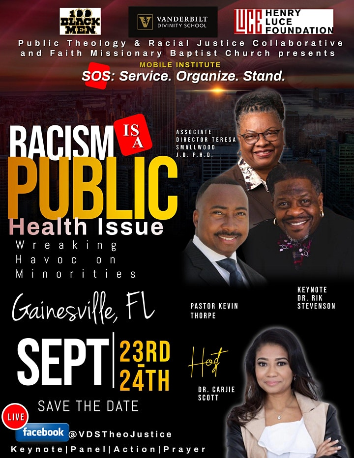 Gainesville Mobile Institute: SERVE, ORGANIZE, & STAND against Racism image