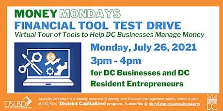 Money Mondays: Financial Tool Test Drive tickets