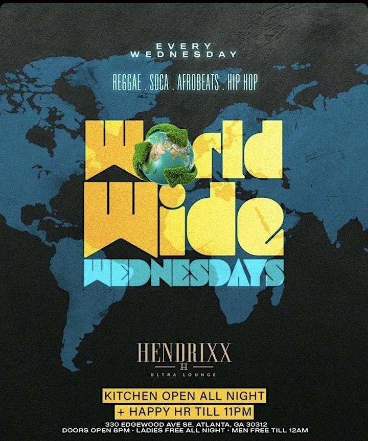 WORLD WIDE WEDNESDAYS | ATLANTA's NUMBER ONE INTERNATIONAL PARTY image