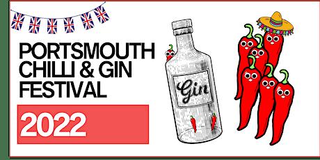 Portsmouth Chilli & Gin Festival 2022 (Sunday) tickets