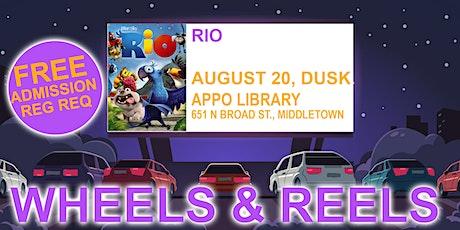 Wheels & Reels: Rio tickets