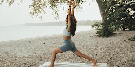 Outdoor Yoga Class - Eglinton Park (Intermediate) - 50% off first class tickets
