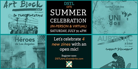 DSTL Arts Summer Celebration – a Release Party & Reading tickets