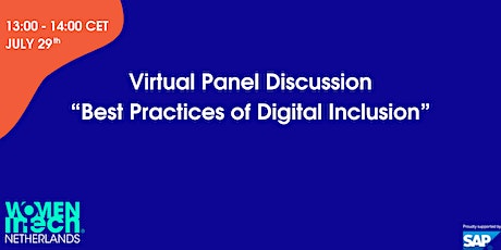 Best Practices of Digital Inclusion tickets