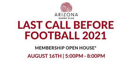 Last Call Before Football tickets