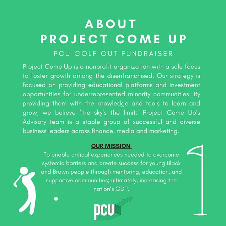 Project Come Up + Golf Out image