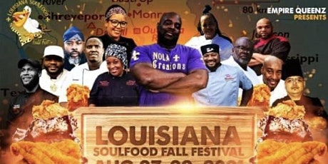 Louisiana Soul Food Fall Festival ⚜️ tickets