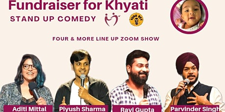 Fundraiser For Khyati - Stand Up Comedy tickets