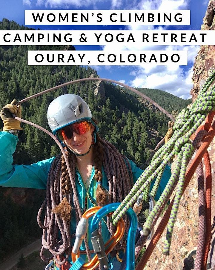 Women's Climbing, Camping & Yoga Retreat image