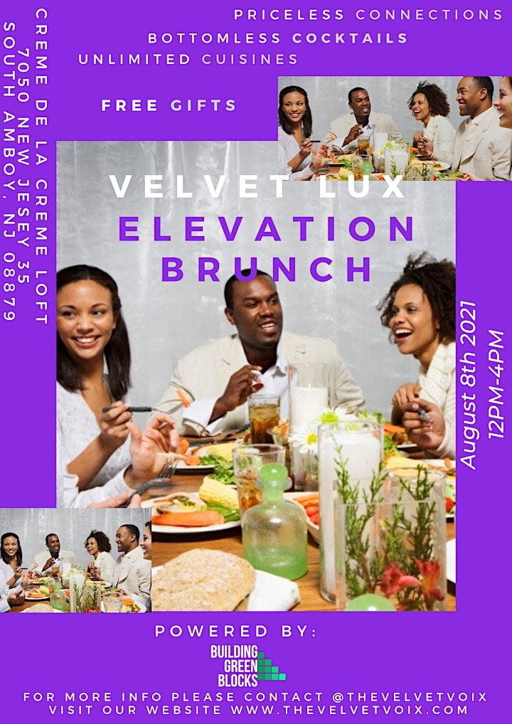 The Velvet Lux Elevation Brunch image