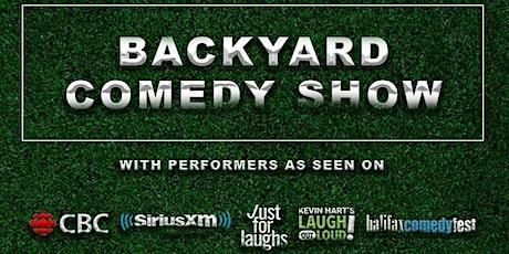 The Backyard Comedy Show tickets