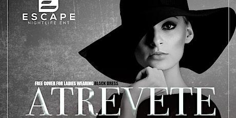 THE BLACK DRESS AFFAIR | ATREVETE LATIN SATURDAYS at The Vault @ REIGN tickets