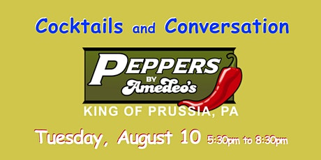 No Cover ~ Pepper's ~ King of Prussia, PA ~ Happy Hour ~ ticket required tickets