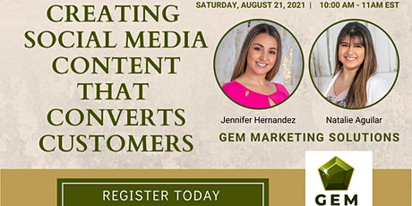 Creating Social Media Content that Converts Customers tickets
