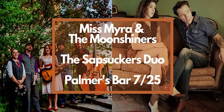 Miss Myra and The Moonshiners and The Sapsuckers Duo tickets