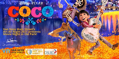 VNMS Art All Night 2021 Presents Movie Night in the Park with Coco tickets