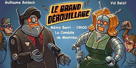 LE GRAND DEROUILLAGE, SOIREE D'HUMOUR billets