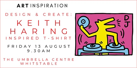 Workshop: Design And Make - A Keith Haring Inspired T-shirt tickets