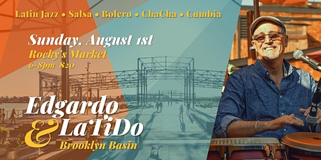 Latin Jazz and Salsa on the Waterfront with Edgardo Cambon & Latido! tickets