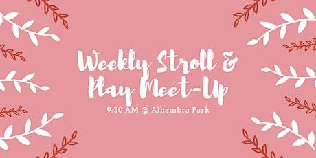 Weekly Stroll & Play Mom Meet-Up! tickets