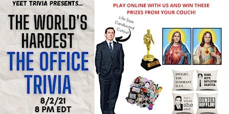 World's Hardest 'The Office' online Trivia tickets