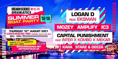 16-18yrs Summer Boat Party - London