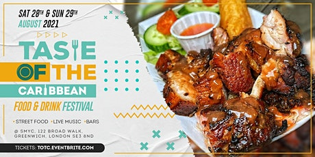 TASTE OF THE CARIBBEAN: Street Food Tasting Festival + Live Music tickets