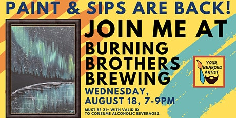 Paint & Sip at Burning Brothers Brewing tickets