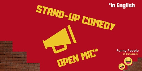 English Stand-up Comedy Open Air Tickets