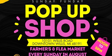 Sunday Funday in Downtown Willis, MI tickets