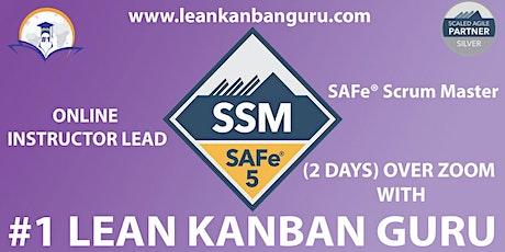 Online SAFe Scrum Master Certification,04-05 Nov Chicago Time, (CST) tickets