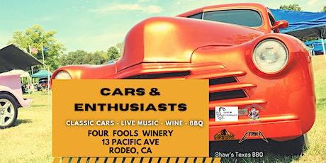 Car Show- Live Music- Wine Tasting tickets